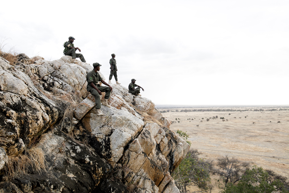 Anti-poaching unit in Randilen