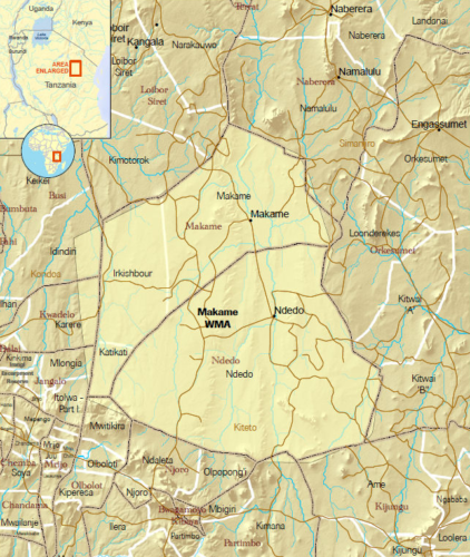 Makame Map